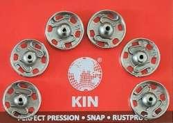 Σούστες ραπτικής 10mm ανοξείδωτες Τσεχίας 6τμχ Koh-I-Noor 10mm - Ασημί