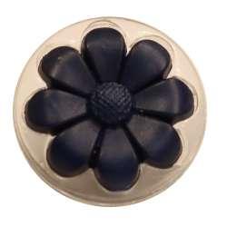 Κουμπιά ConeFlower διαφανές με χρώμα 05ΒΤΝC - Navy Blue