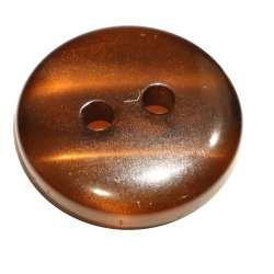 Κουμπιά Κοκκάλινα Γυαλιστερά 03BTNKG - Coffee