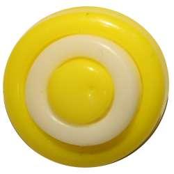 Διάφορα Παιδικά Κουμπά Part 1 09BTNDP - Άσπρο Κίτρινο