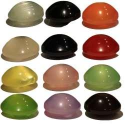 Κουμπιά Φούσκα Γυαλιστερά