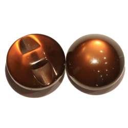 Κουμπιά Φούσκα Γυαλιστερά 03BTNF - Coffee