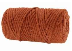 Cotton Twist Macrame 5mm 62 - Pumpkin