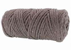 Cotton Twist Macrame Slim 3mm 64 - Tiles Vizon