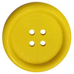 Μεγάλα Ξύλινα Κουμπιά 04BTNBO - Yellow