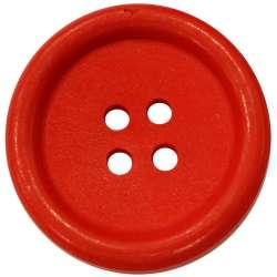 Μεγάλα Ξύλινα Κουμπιά 06BTNBO - Red
