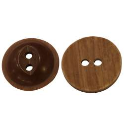 Plastic Brown - Milky Coffe 15 mm