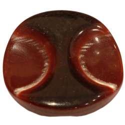 Κουμπιά Glitz 23mm 01BTNG2 - Bordeaux