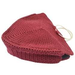 Crochet Triangle Bag Crochet Triangle Bag