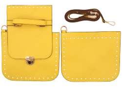 2. Κιτ τσάντας χιαστί Gold 8 - Κίτρινο