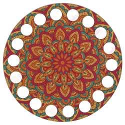 Ξύλινο Φιλιγκρί - Πάτος (9,50 cm) 2.0950