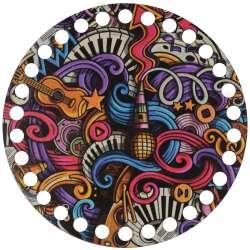 Ξύλινο Φιλιγκρί - Πάτος (14,50 cm) 53POD15 - (τεμάχιο)