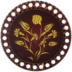 Ξύλινο Φιλιγκρί - Πάτος (14,50 cm) 56POD15 - (τεμάχιο)