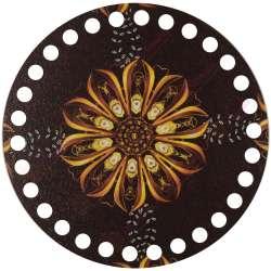 Ξύλινο Φιλιγκρί - Πάτος (14,50 cm) 57POD15 - (τεμάχιο)