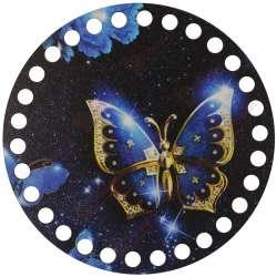 Ξύλινο Φιλιγκρί - Πάτος (14,50 cm) 60POD15 - (τεμάχιο)