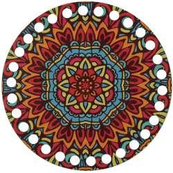 Ξύλινο Φιλιγκρί - Πάτος (14,50 cm) 61POD15 - (τεμάχιο)