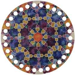 Ξύλινο Φιλιγκρί - Πάτος (14,50 cm) 65POD15 - (τεμάχιο)