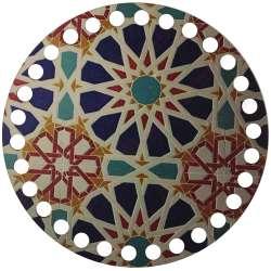 Ξύλινο Φιλιγκρί - Πάτος (14,50 cm) 66POD15 - (τεμάχιο)