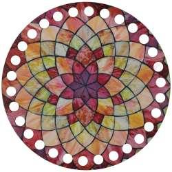 Ξύλινο Φιλιγκρί - Πάτος (14,50 cm) 37POD15 - (τεμάχιο)