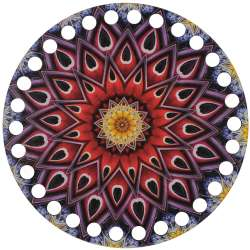 Ξύλινο Φιλιγκρί - Πάτος (14,50 cm) 68POD15 - (τεμάχιο)