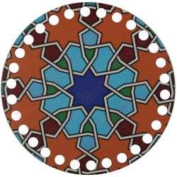 Ξύλινο Φιλιγκρί - Πάτος (14,50 cm) 72POD15 - (τεμάχιο)