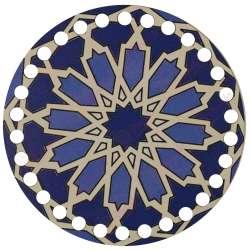 Ξύλινο Φιλιγκρί - Πάτος (14,50 cm) 01POD15 - (τεμάχιο)