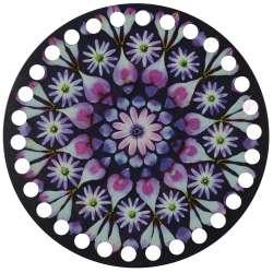 Ξύλινο Φιλιγκρί - Πάτος (14,50 cm) 02POD15 - (τεμάχιο)