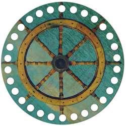 Ξύλινο Φιλιγκρί - Πάτος (14,50 cm) 04POD15 - (τεμάχιο)