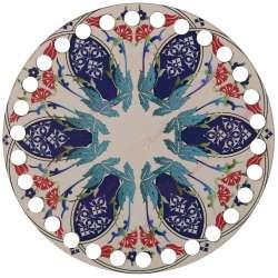 Ξύλινο Φιλιγκρί - Πάτος (14,50 cm) 10POD15 - (τεμάχιο)