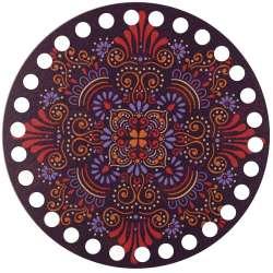 Ξύλινο Φιλιγκρί - Πάτος (14,50 cm) 17POD15 - (τεμάχιο)