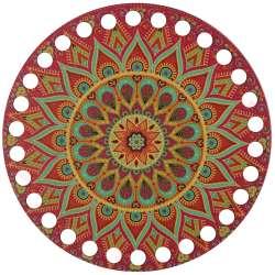 Ξύλινο Φιλιγκρί - Πάτος (14,50 cm) 18POD15 - (τεμάχιο)