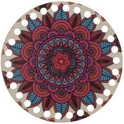 Ξύλινο Φιλιγκρί - Πάτος (14,50 cm) 24POD15 - (τεμάχιο)