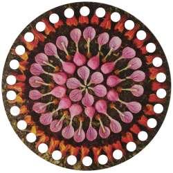 Ξύλινο Φιλιγκρί - Πάτος (14,50 cm) 26POD15 - (τεμάχιο)