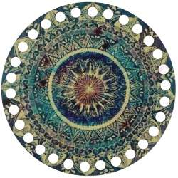 Ξύλινο Φιλιγκρί - Πάτος (14,50 cm) 31POD15 - (τεμάχιο)