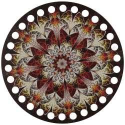 Ξύλινο Φιλιγκρί - Πάτος (14,50 cm) 32POD15 - (τεμάχιο)