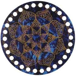 Ξύλινο Φιλιγκρί - Πάτος (14,50 cm) 33POD15 - (τεμάχιο)