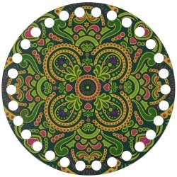 Ξύλινο Φιλιγκρί - Πάτος (14,50 cm) 34POD15 - (τεμάχιο)