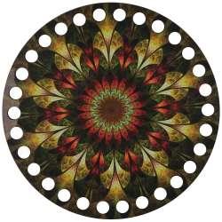 Ξύλινο Φιλιγκρί - Πάτος (14,50 cm) 74POD15 - (τεμάχιο)