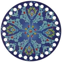 Ξύλινο Φιλιγκρί - Πάτος (14,50 cm) 78POD15 - (τεμάχιο)