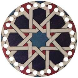 Ξύλινο Φιλιγκρί - Πάτος (14,50 cm) 93POD15 - (τεμάχιο)