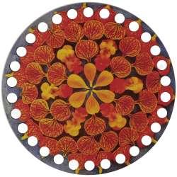 Ξύλινο Φιλιγκρί - Πάτος (14,50 cm) 98POD15 - (τεμάχιο)