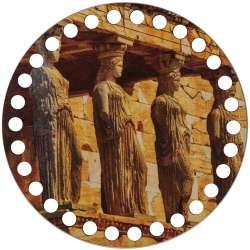 Ξύλινο Φιλιγκρί - Πάτος (14,50 cm) 99POD15 - (τεμάχιο)