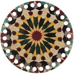 Ξύλινο Φιλιγκρί - Πάτος (14,50 cm) 35POD15 - (τεμάχιο)