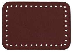 Πάτος Wide (20 x 14 cm) 8PAR - Μπορντό