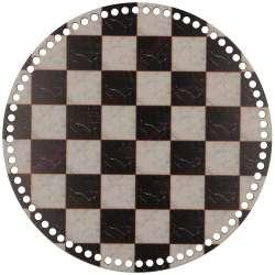 Ξύλινο Φιλιγκρί - Πάτος (29,50 cm) 04POD29 - (τεμάχιο)