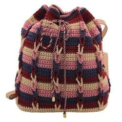 Crochet pouch bag / back bag Crochet pouch back bag