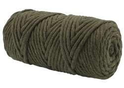 Cotton Twist Macrame 5mm 24X - Khaki Dark