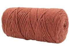 Cotton Twist Macrame Slim 3mm 71 - Clay