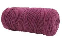 Cotton Twist Macrame Slim 3mm 72 - Raspberry